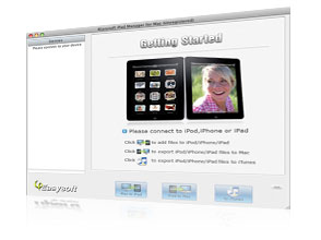 iPod Manager for Mac Screen
