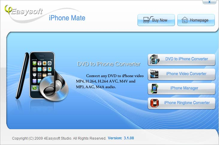 Click to view 4Easysoft iPhone Mate screenshots