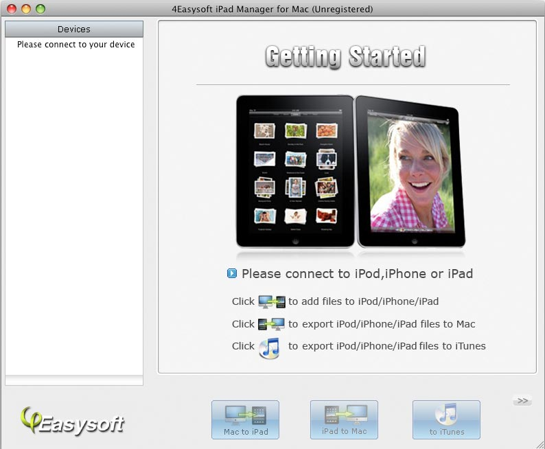 4Easysoft iPad Manager for Mac
