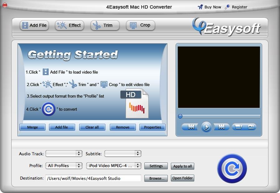 4Easysoft Mac HD Converter